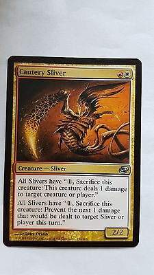 2x CAUTERY SLIVER - Rare - Planar Chaos - MTG - NM - Magic the Gathering