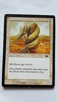 1x PLATED SLIVER - Rare - Legion - MTG - NM - Magic the Gathering