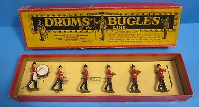 1950's Britain Soldiers No. 30 Drums and Bugles