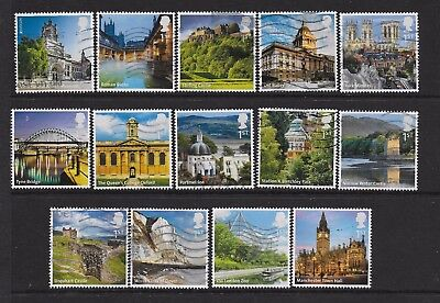 1) GB Stamps  2012 UK A-Z Full Set Good Used.