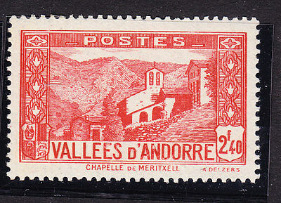 Andorra 1932 Lady´s Chapel - 2f40 Red F68 Mint Never Hinged