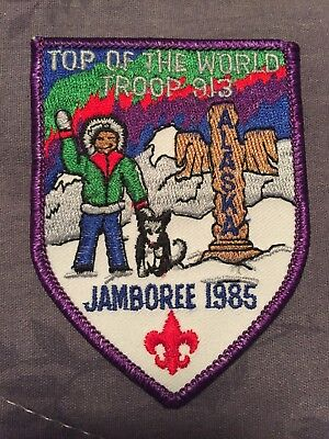 1985 Midnight Sun Council National Scout Jamboree Patch