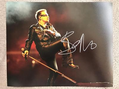 Bono Signed (8X10) Authentic Autograph COA (Music, U2)
