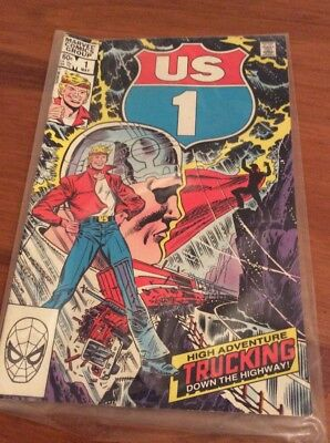 US1 comic issue 1 -1983