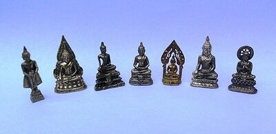 Seven Miniature Buddha for Travellers