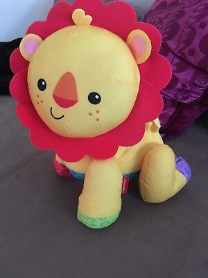 Fisher Price Touch N Crawl Lion