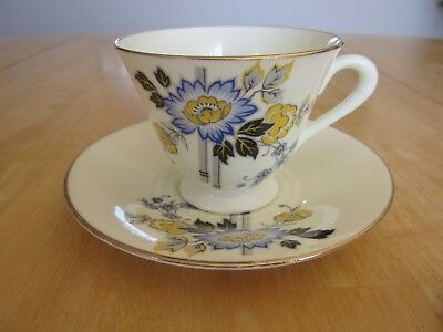 Plant Tuscan Fine Bone China - Teacup & Saucer  Pat #6122A