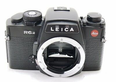 Leica R6.2 camera body, black, Made in Germany EXC++