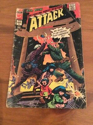 Attack comic issue 13(1973)