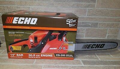 "Echo CS-310 Chainsaw 14"" Bar - New"