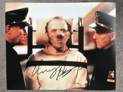 Anthony Hopkins Signed (8X10) Authentic Autograph COA (Hannibal Lecter)