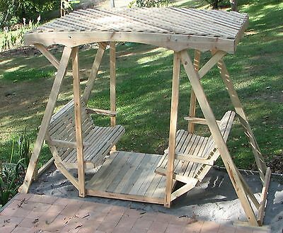 Lawn Glider Swing Seat Shade