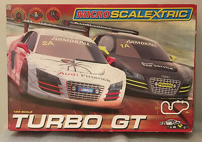 Micro Scalextric Turbo GT Complex Circuit Track Excellent Condition FAST POST
