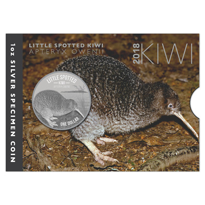 2018 Kiwi Coin 1 oz Silber Specimen Coin New Zealand!!!