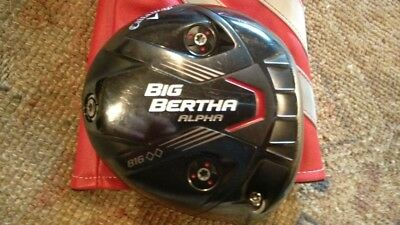 Callaway Big Bertha Black Diamond 10.5 Driver