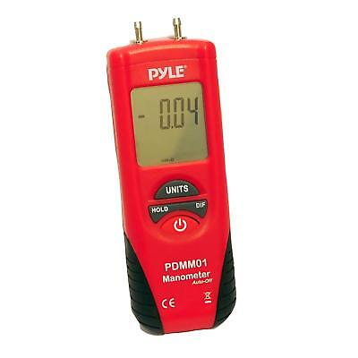 Pyle Manometer with 11 Units of Measure