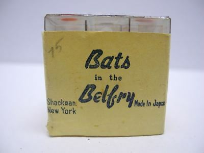 Rare 1950's NOS Bats in the Belfry Dexterity Puzzle from Shackman Made in Japan