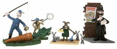 Vintage McFarlane Wallace and Gromit Curse of Were-Rabbit Carrot Collector Set