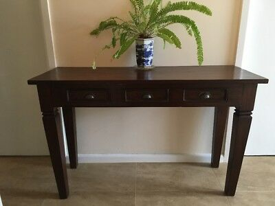 HALL TABLE with 3 draws