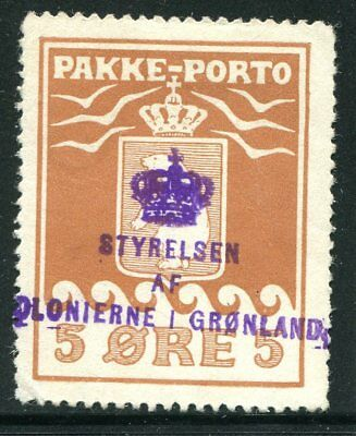 Greenland Parcel Post  Q3a  prf 12½  sound used cat $775