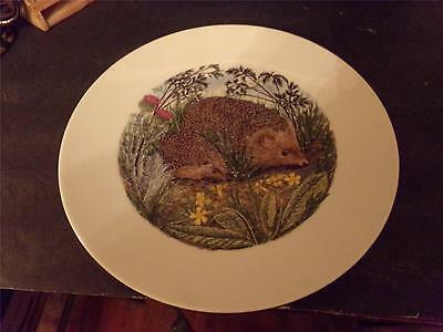 Hedgehog Decorative Plate Mother Hedgehog & Baby(71)