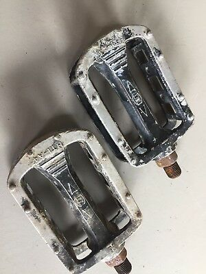 Old School BMX - HTI Alloy Pedals - Mongoose Redline - RARE