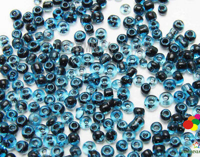 New 2mm 1000 Pcs Round Dyeing Hearts Gilding Glass Loose seed Spacer Beads A-14