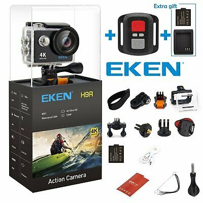 Action Camera Video Sport Camcorder Ultra HD 4K 1080P WIFI EKEN H9R Waterporoof