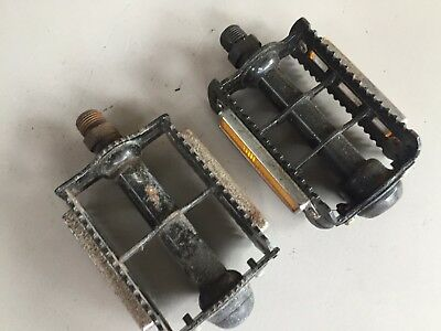 Old School BMX - MKS  Rat Trap Pedals - NOS - Mongoose - Redline - Kuwahara