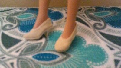 New white material covered shoe Forever Yours ensemble Tiny Kitty Robert tonner