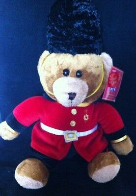 London Souvenir Guardsman Teddy Bear By Keel Toys