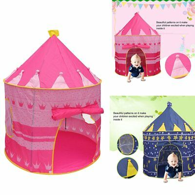 Childrens Baby Kids Pop Up Play Tent Fairy Girls Boys Playhouse Indoor/Outdoor