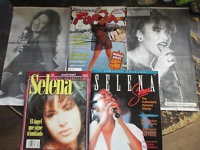 Selena Collectable Magazines and Posters