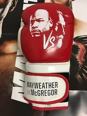 Mayweather V Mcgregor Boxing Glove And Official Poster!!!