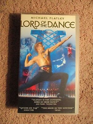 Michael Flatley - Lord of the Dance VHS Tape (1996)