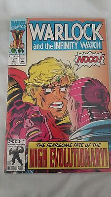 Warlock and the Infinity Watch # 3 ,4, 5, 6 ,7,8 Comic Book Lot