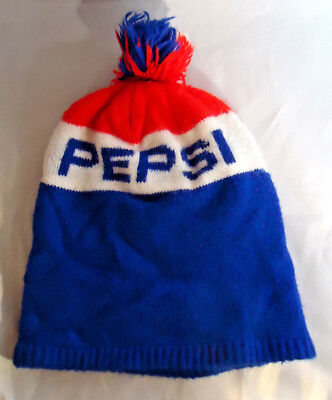 Vintage Pepsi Cola Knit Stocking Cap