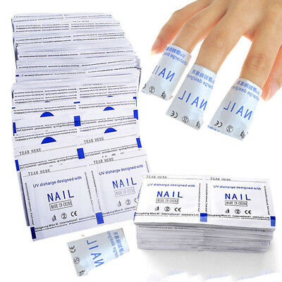 Cleaner Nail Foil Acrylic Gel Wraps Polish Remover Art Soak OFF Acetone Removal
