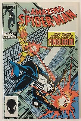 The Amazing Spider-Man #269 - Firelord Appearance VF/NM 9.0 WP Marvel Comic
