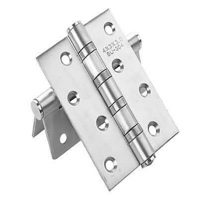 2Pcs 3MM Classic Furniture Hardware Hinges Fixed for Cabinet Door Trunk