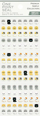 """Mind Wave One Point Seal """"Exotic Shorthair"""" (Cat) Stickers"""