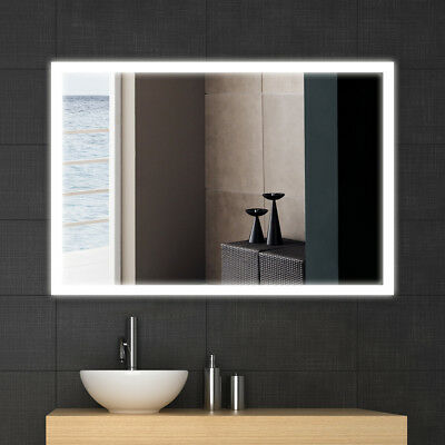 600*800MM Wall Mounted Illuminated LED Bathroom Mirror  Without Bluetooth