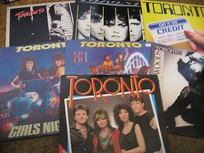 Toronto/ Lot of Seven LPs/ VG++ to NM-