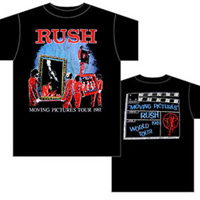 Rush: Moving Pictures Tour T-Shirt  New  Official  Free Shipping