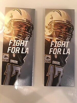 CHARGERS VS RAIDERS TICKETS!!! DECEMBER 31st New Years Eve game in Carson, CA