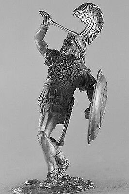 Ancient World, Athenian hoplite in battle. 54 mm Lead Figure