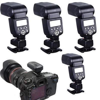 4 Channels Wireless Flash 1 Trigger Transmitter Set + 4 Receivers for Canon
