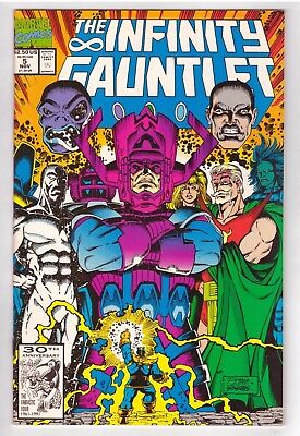 1991 Marvel Comics The Infinity Gauntlet #5 Thanos Vf/nm Flat Rate S/h