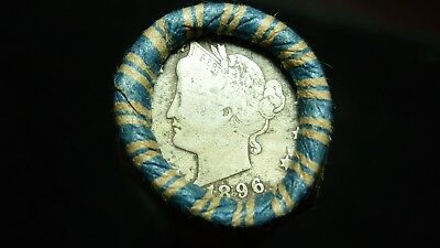 Unsearched Shotgun Roll w/ Nice 1896 & 1903 Liberty Head (V-Nickels) showing