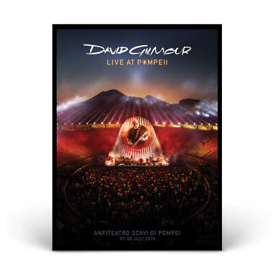 DAVID GILMOUR 2017 PINK FLOYD LIVE AT POMPEII limited Lithograph poster no.233